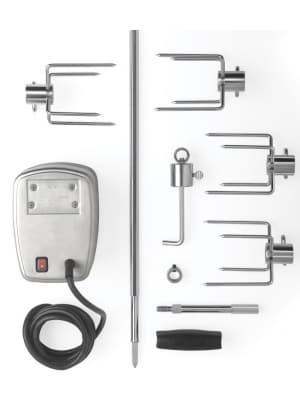 Вертел с 4-мя зажимами и электромотором для газовых грилей Napoleon-600/605/730