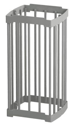 Сетка для камней на трубу «Костёр»