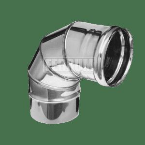 Колено Ferrum 90° (4 секции) 0,5 мм