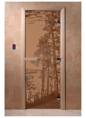 """Дверь """"Рассвет бронза матовая"""""""