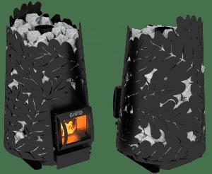 Банная печь Grill'D Dubravo 180 Short