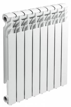 Радиатор алюминиевый Sunny Heater S2-AL-80-500, 8 секций