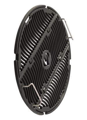 Чугунная решетка c боковыми створками для угольных грилей Napoleon