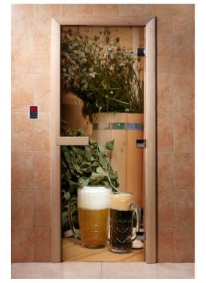 Дверь с фотопечатью A017