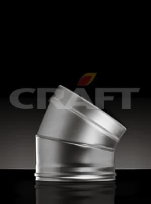 CRAFT сэндвич-отвод 30°, 0,5 зеркало, изоляция 50мм