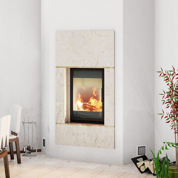 Каминная облицовка «Мета Милан 840» пристенная, серия «Европа»