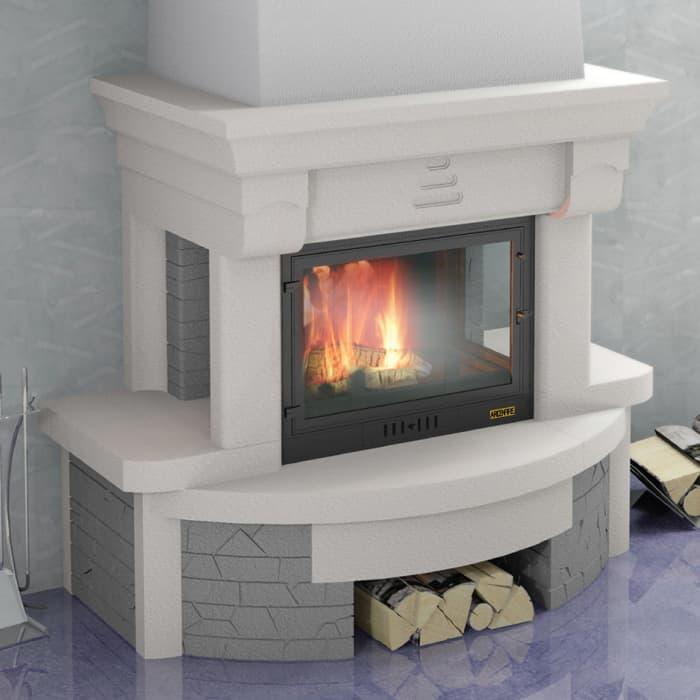 Каминная облицовка «Мета Престо 700» пристенная, серия «Музыка огня»