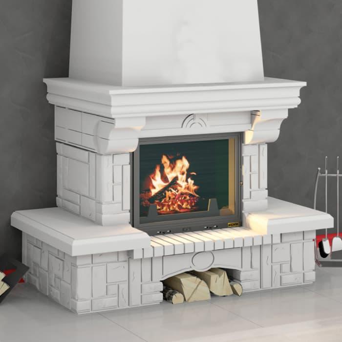 Каминная облицовка «Мета Соло 700» пристенная, серия «Музыка огня»