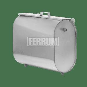 Бак для теплообменника Ferrum горизонтальный эллипс