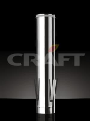 CRAFT Труба c дистанционным хомутом, 0,5, матовая