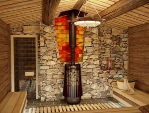 Банная печь Grill'D Cometa 180 Vega Window