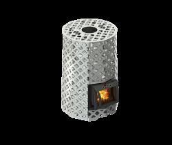 Банная печь Grill'D Violet Steel Romb Short (Жадеит 100 кг)