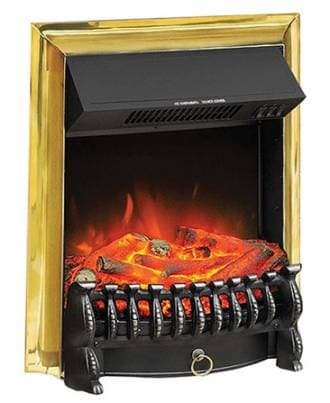 Электроочаг Royal Flame Fobos FX Brass
