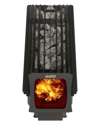 Банная печь Grill'D Cometa 180 Vega Short Window Max