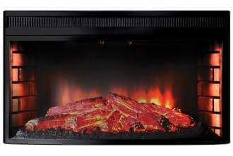 Электроочаг Inter Flame Panoramic 33w led fx