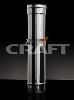 CRAFT Труба телескопическая 0,55-0,95м, 0,5, матовая