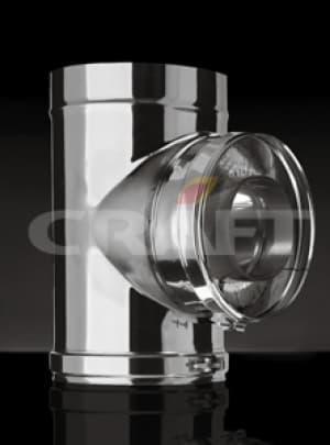 CRAFT сэндвич-тройник 87°, 0,5 зеркало, изоляция 50мм