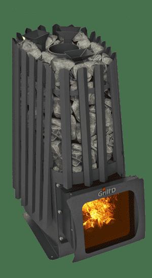 Банная печь Grill'D Cometa 350 Vega Short Window Max