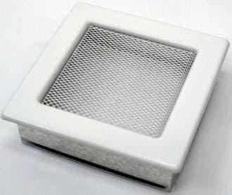 Решетка Kratki 17x17 белая