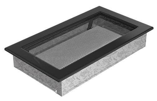 Решетка Kratki 17x30 черная