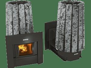 Банная печь Grill'D Cometa 180 Vega Window Stone