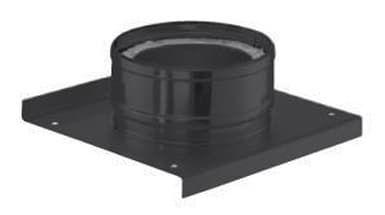 Основание с отводом конденсата Schiedel Permeter d200/250, черный