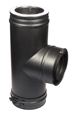 Тройник 90° Schiedel Permeter d200/250, черный