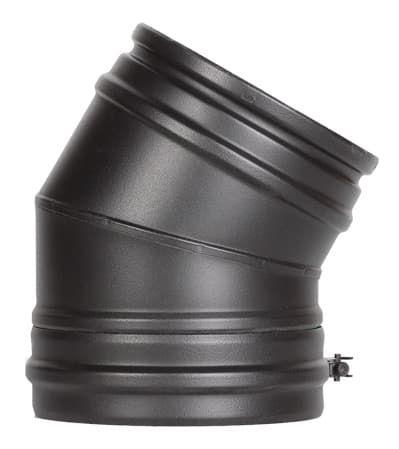Отвод 30° Schiedel Permeter d200, черный