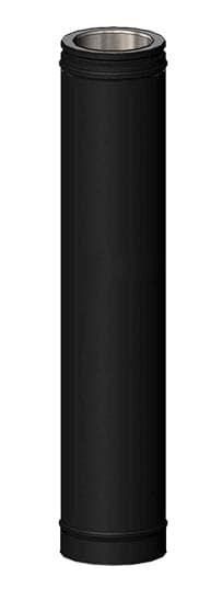 Элемент трубы дымохода Schiedel Permeter L=1000мм, d200, черный