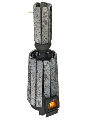 Банная печь Grill'D Cometa 180 Vega Long Window Max Stone