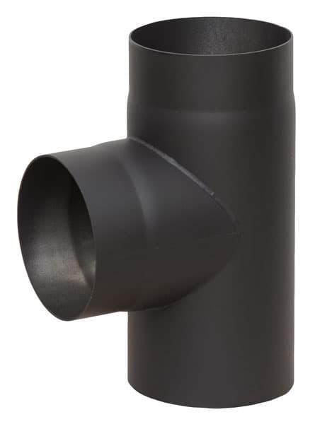 Тройник КПД 90° d 120, 2 мм черный