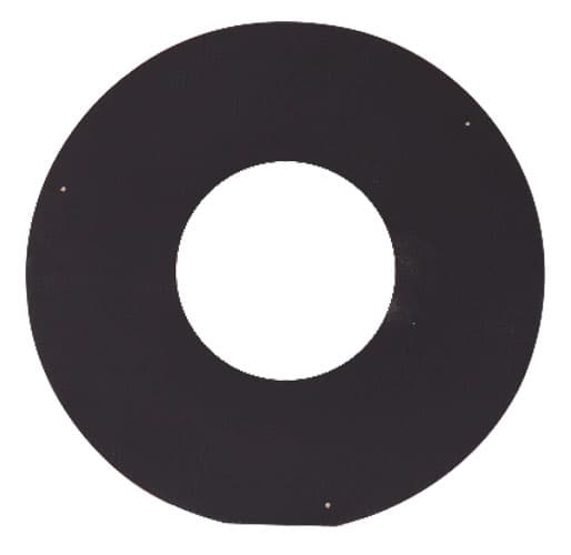 Накладка декоративная КПД d 200, 500х500 мм, 0,7 мм черный