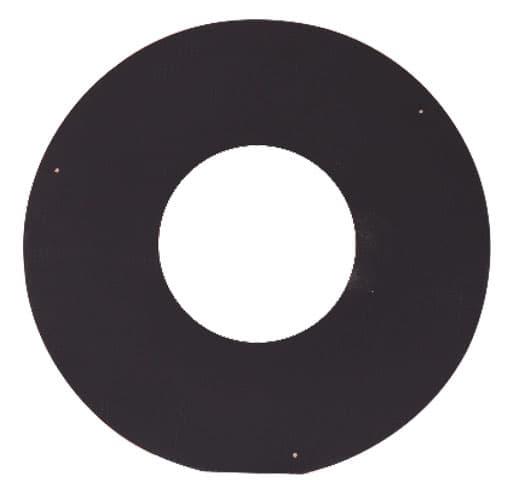 Накладка декоративная КПД d 210, 500х500 мм, 0,7 мм черный