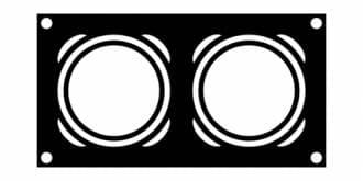 Двухходовой дымоход EcoOsmose D=200 / 200 / 9 m, ДИС