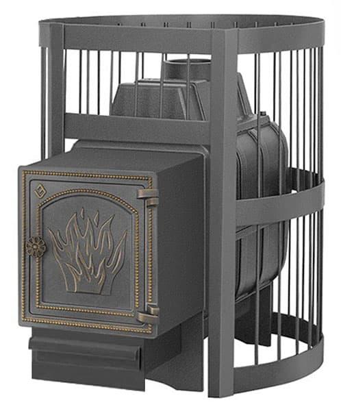 Банная печь чугунная «Везувий Легенда Стандарт 16» (ДТ-4)