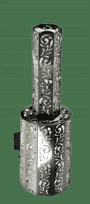 Банная печь Grill'D Violet Long (Жадеит 100 кг)