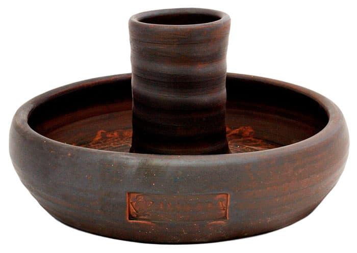 Курница 25 см керамическая