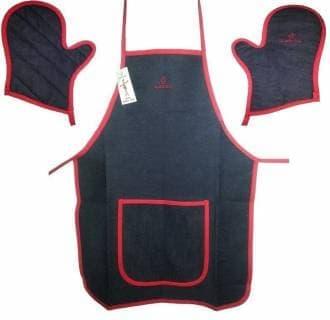 Набор «Тандыр-МАN» (фартук, 2 рукавицы)
