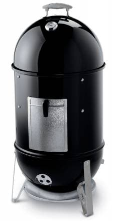 Коптильня угольная Weber Smokey Mountain Cooker 47 см, черный