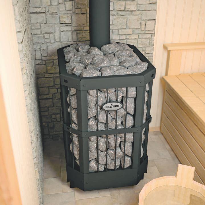 Банная печь «Greivari Кирасир 20 Corbis»