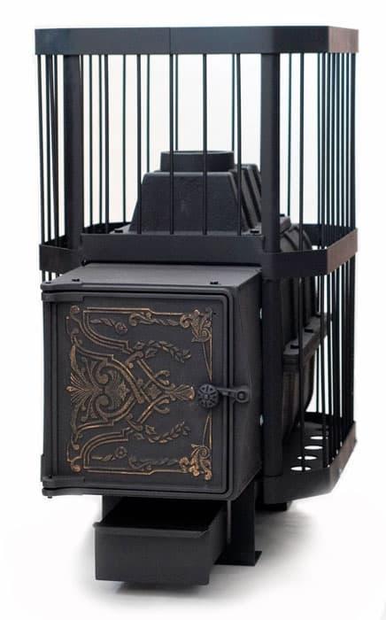 Банная печь чугунная «НМК Сибирь-24» чугунная дверца
