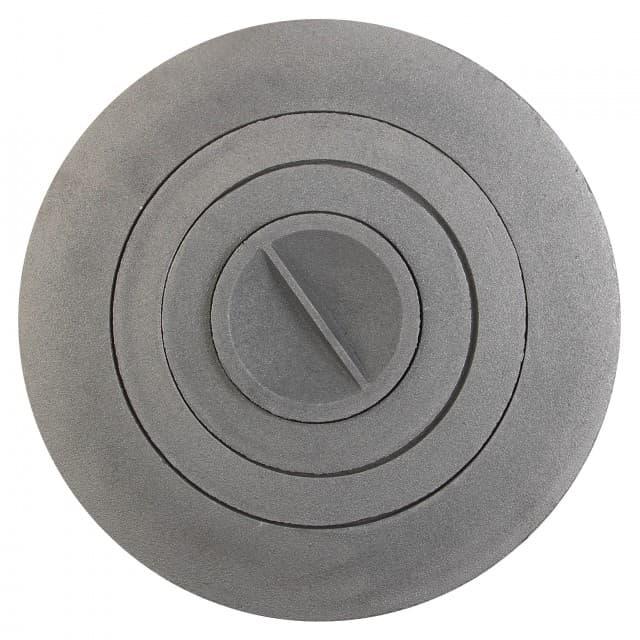Плита круглая чугунная «Стэн Буржуйка» для печи «КазанОК»