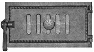 Дверка поддувальная уплотненная крашеная «Литком» 290х140 ДПУ-3