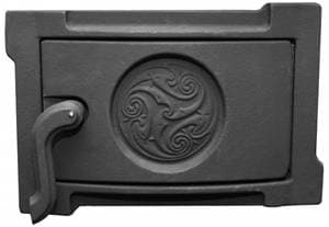 Дверка поддувальная уплотненная крашеная «Литком» 250х140 ДПУ-2Б RLK 519