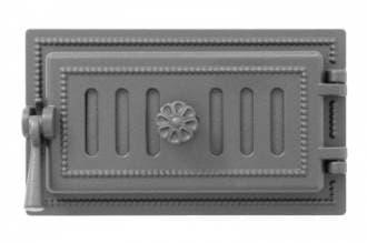 Дверка поддувальная «Везувий 236» герметичная, крашенная