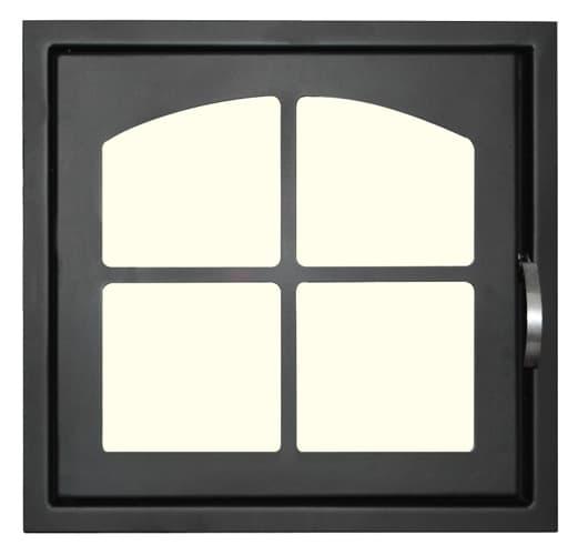 Дверца каминная «Мета» ДК555-1К