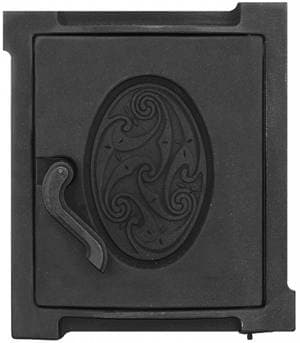 Дверка топочная уплотненная крашеная «Литком» 250х280 ДТУ-4А RLK 519