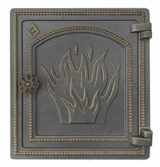 Дверка топочная «Везувий ДТ-4» негерметичная, бронза