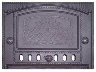 Дверка каминная крашеная «Литком» 375х300 ДК-2Б RLK 8314