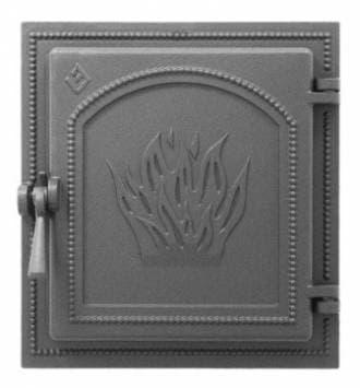 Дверка топочная «Везувий 271» герметичная, крашенная